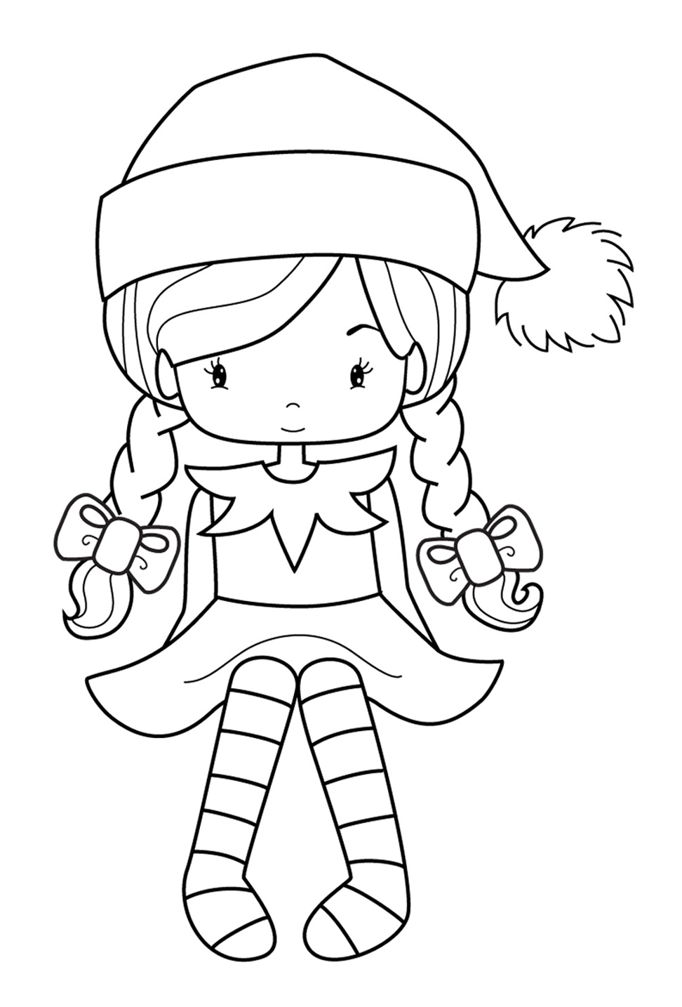 Elf Coloring Pages Printable 28 Elf Coloring Pages Printable Images Free Coloring Pages Part 3