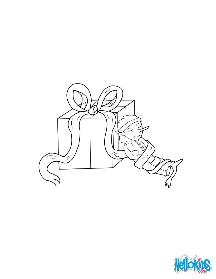Elf Coloring Pages Printable Santas Helpers Coloring Pages 48 Printables To Color Online For