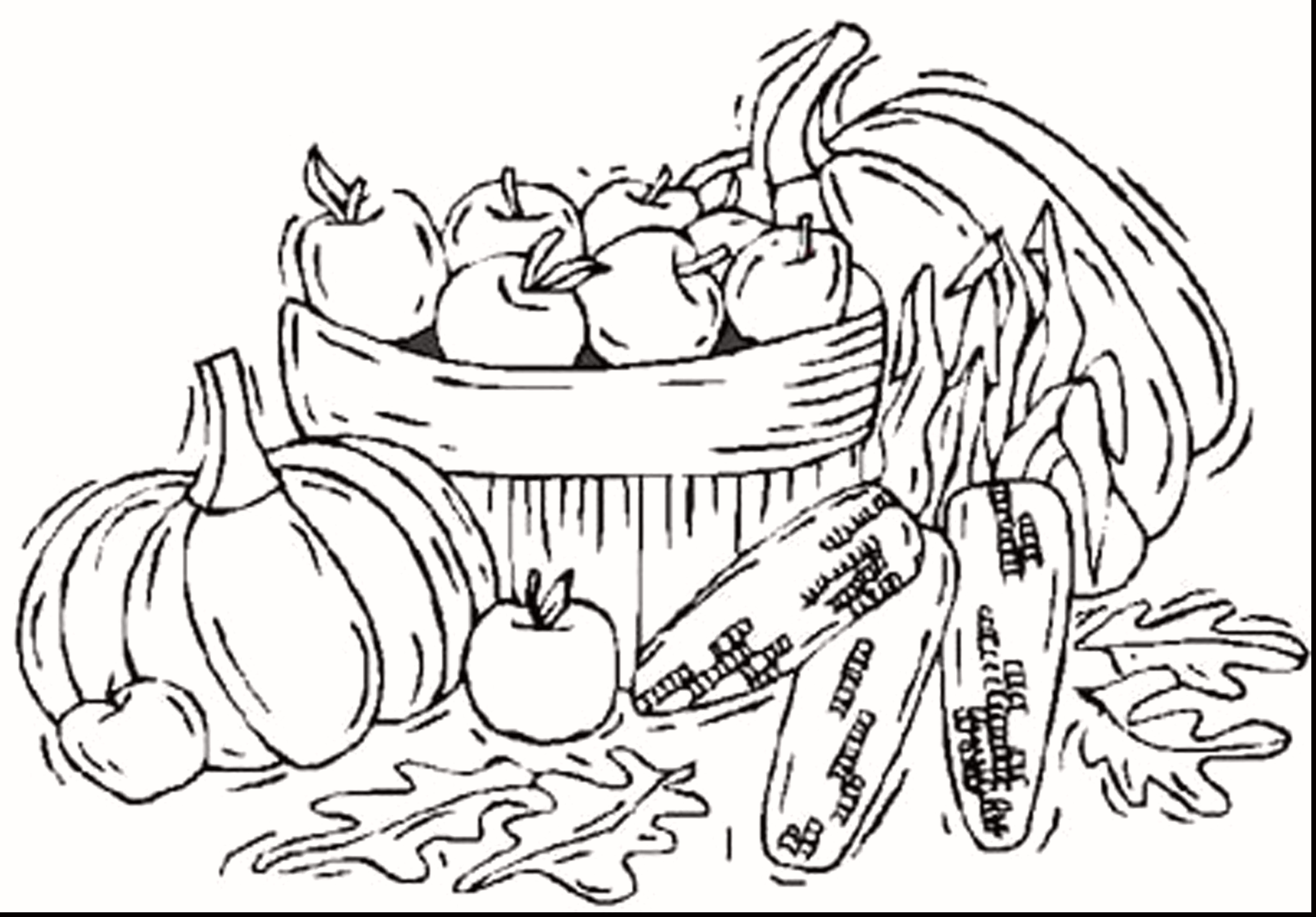 Fall Color Page 19 Prinatable Coloring Pages Collection Coloring Sheets