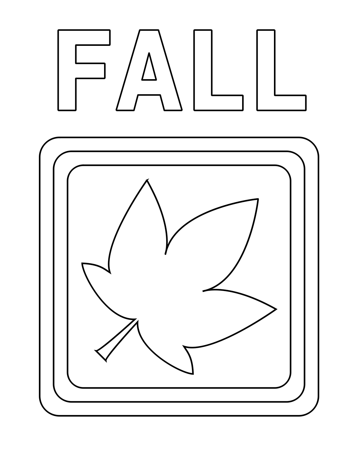 Fall Color Page 5 Fall Coloring Sheets Autumn Season Coloring Pages All Esl