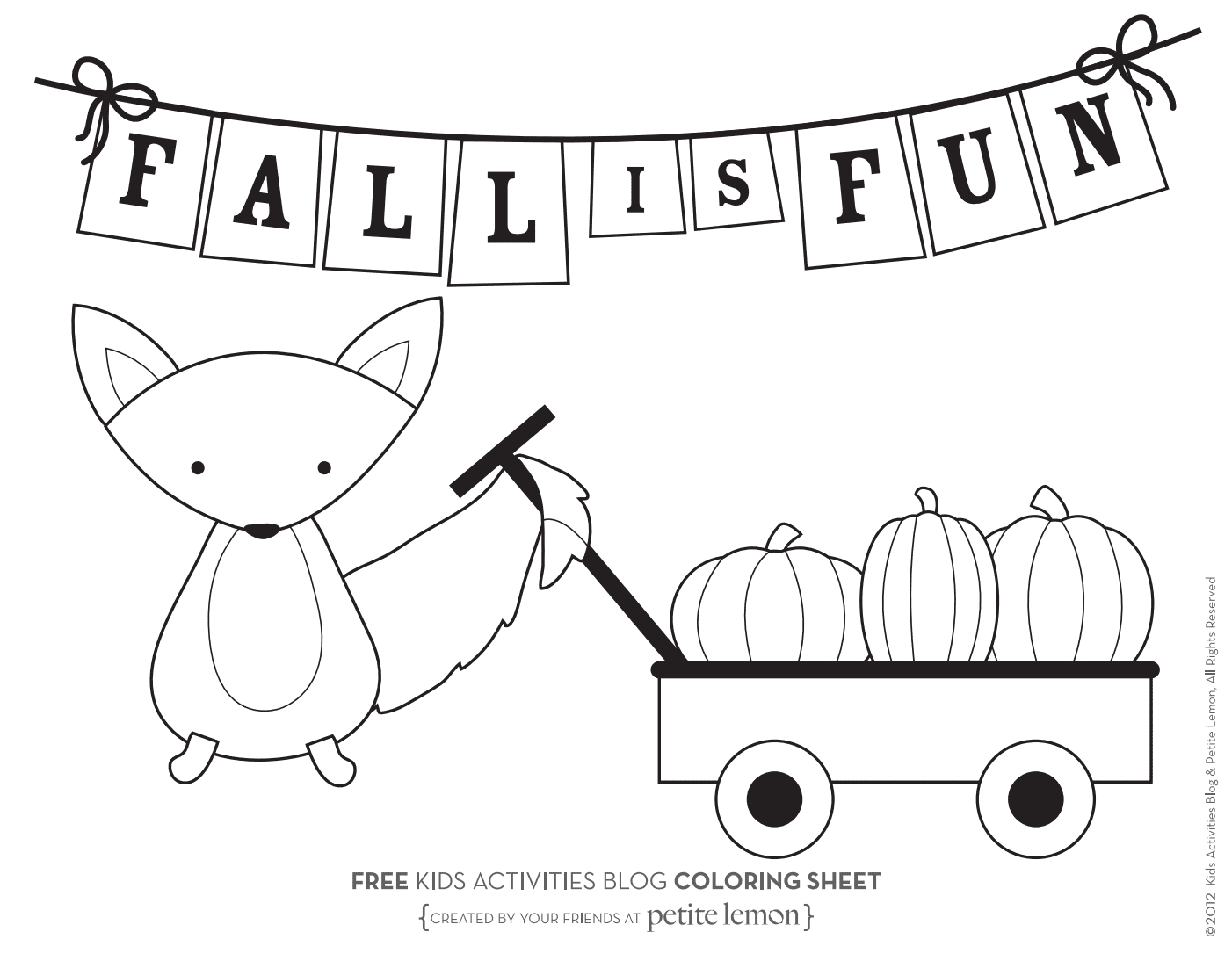Fall Color Page Coloring Book World Free Fall Coloring Sheets Pages Funny Autumn