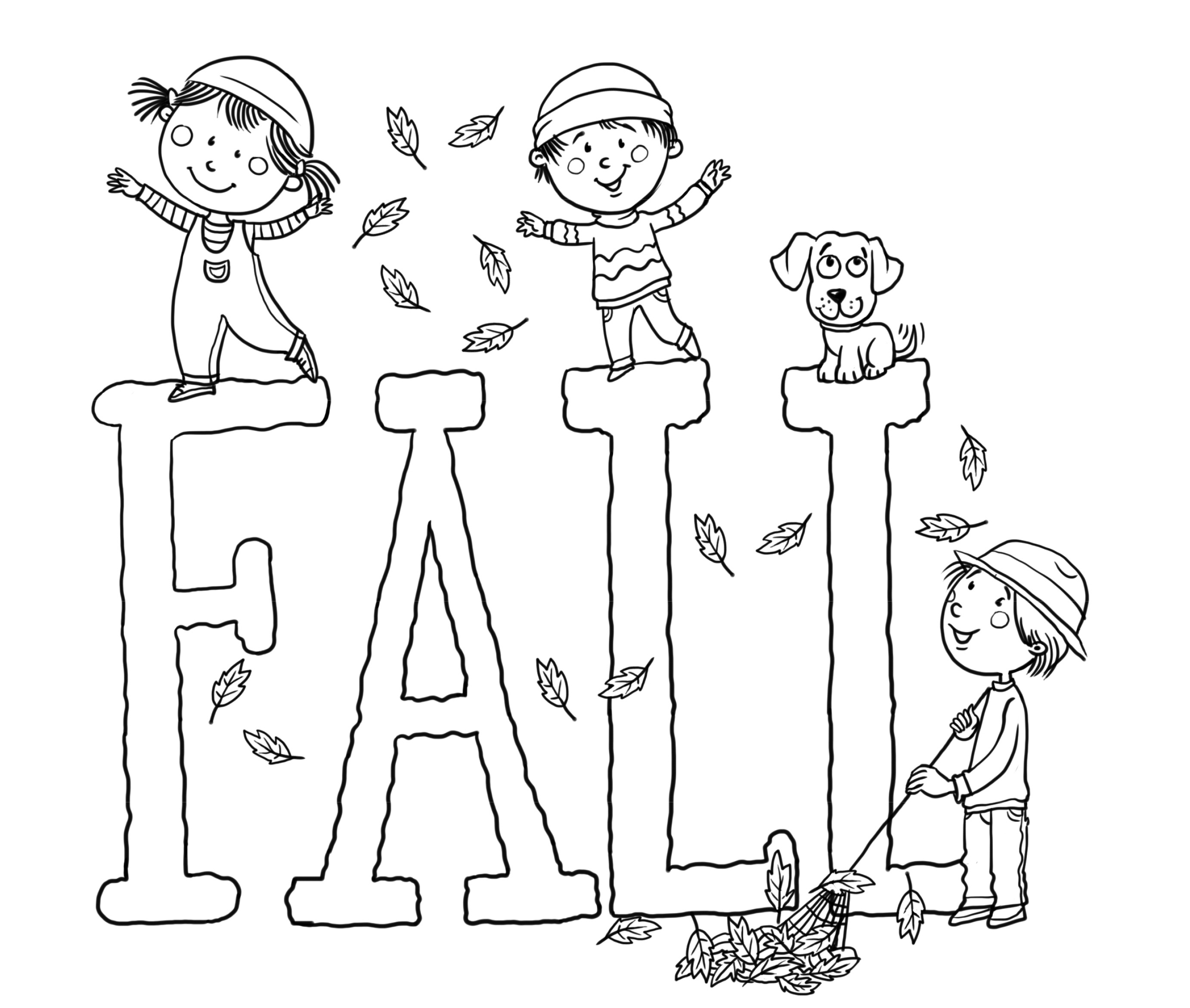 Fall Color Page Free Printable Fall Coloring Pages For Kids Best Coloring Pages