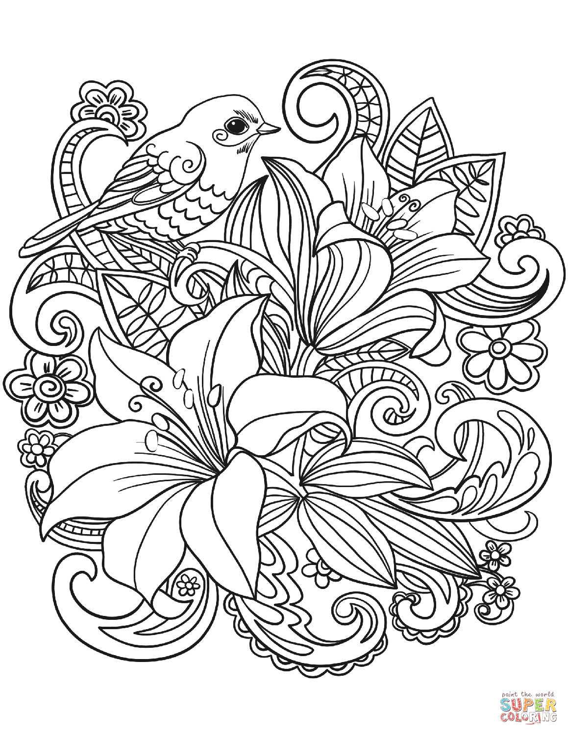 Flowers Coloring Pages Free Printable Luxury Printable Colouring Pages Free Adult Coloring Detailed For