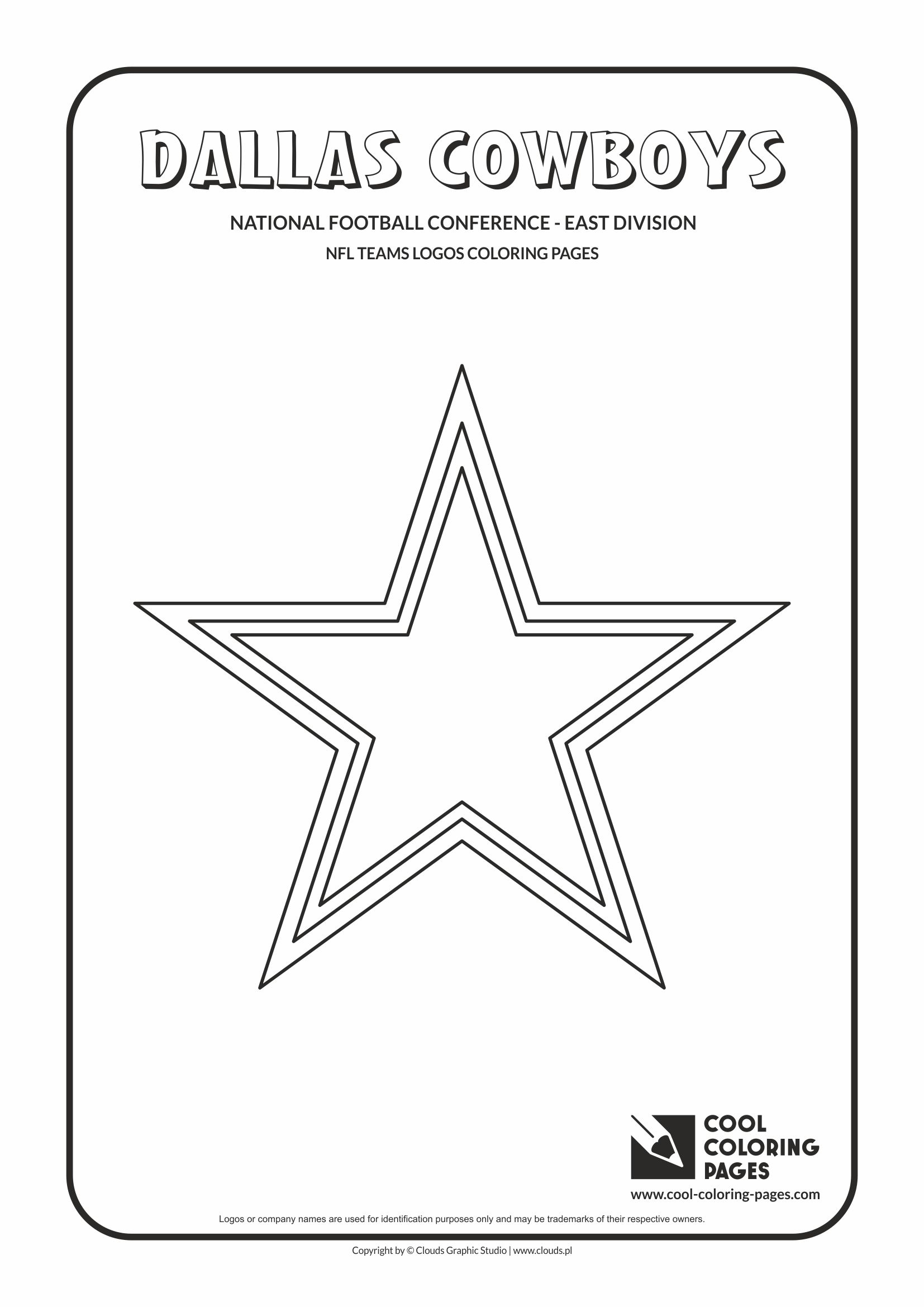 Football Color Pages Cool Coloring Pages Nfl Teams Logos Coloring Pages Cool Coloring