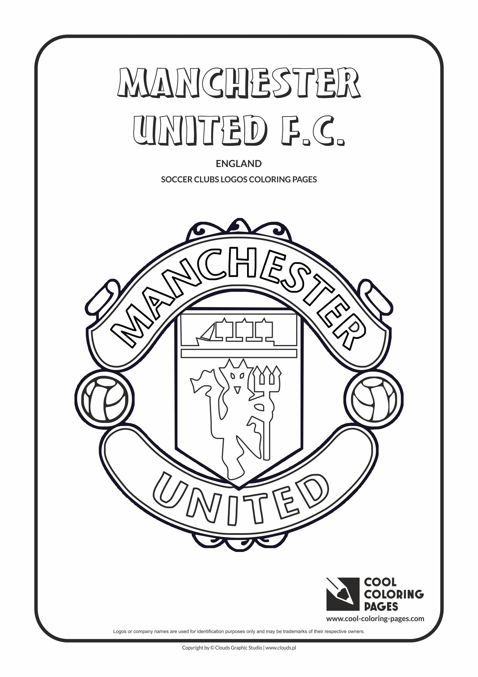 Football Color Pages Cool Coloring Pages Soccer Clubs Logos Cool Coloring Pages Free