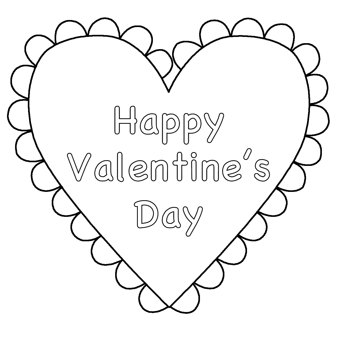 Free Coloring Pages Hearts Coloring Ideas Printable Valentines Day Coloring Pages K Hearts