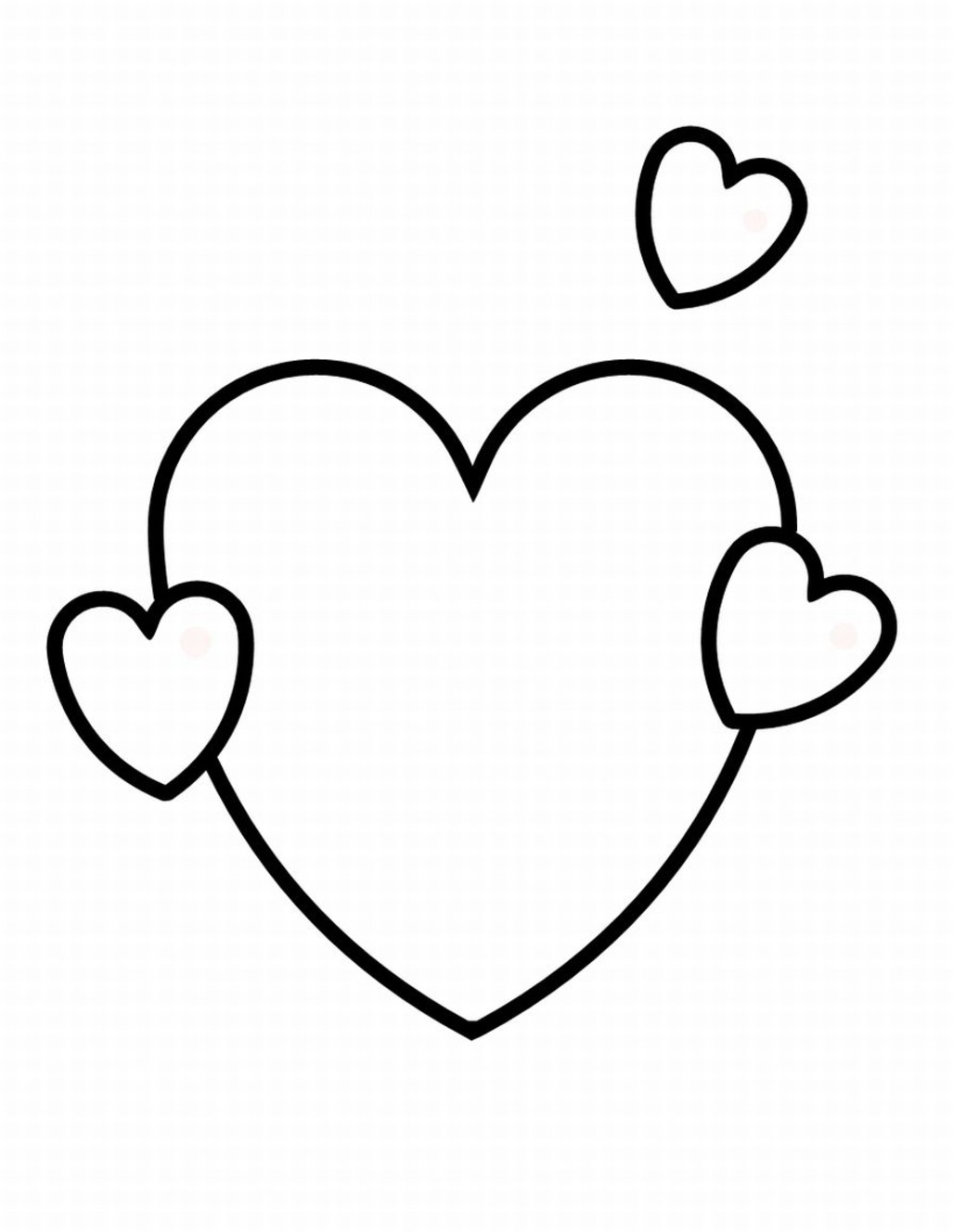 Free Coloring Pages Hearts Free Hearts With Wings Coloring Pages Download Free Clip Art Free