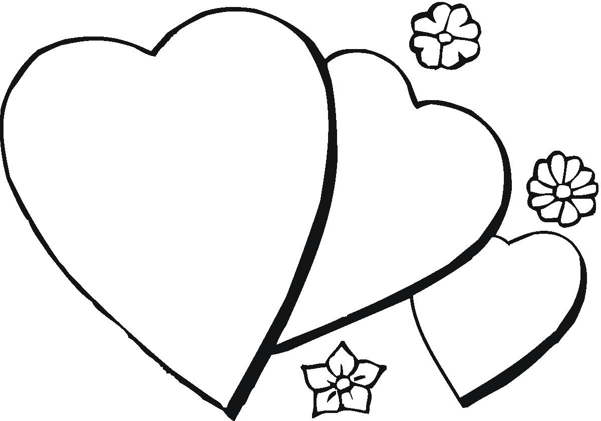 Free Coloring Pages Hearts Free Printable Heart Coloring Pages For Kids