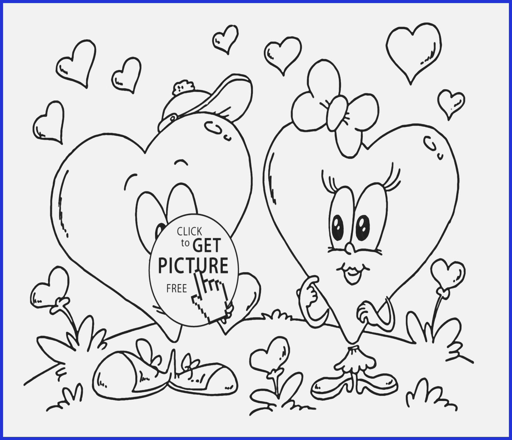 Free Coloring Pages Hearts Valentine Coloring Pictures Printable Heart Coloring Pages Luxury