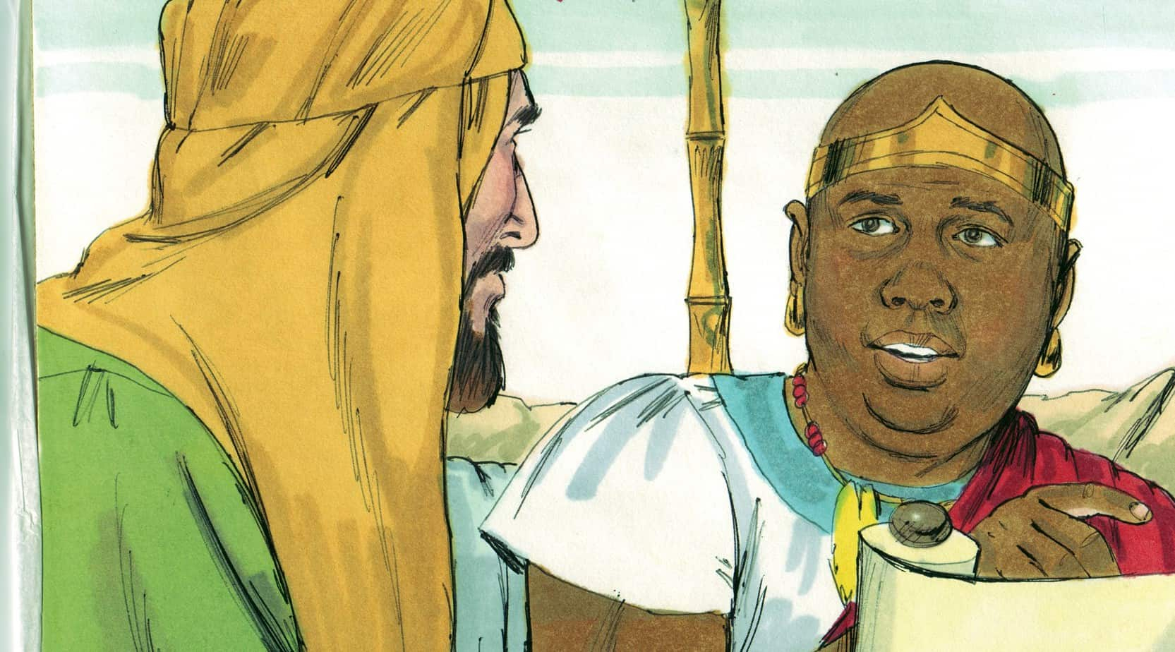 Free Coloring Pages Philip And The Ethiopian Bible Lesson Skit Philip And The Ethiopian Acts 8