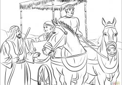 Free Coloring Pages Philip And The Ethiopian Philip And The Ethiopian Coloring Page Free Printable Coloring Pages