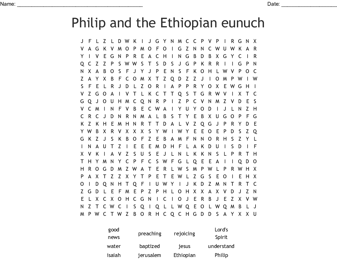 Free Coloring Pages Philip And The Ethiopian Philip And The Ethiopian Worksheet Printable Worksheets And