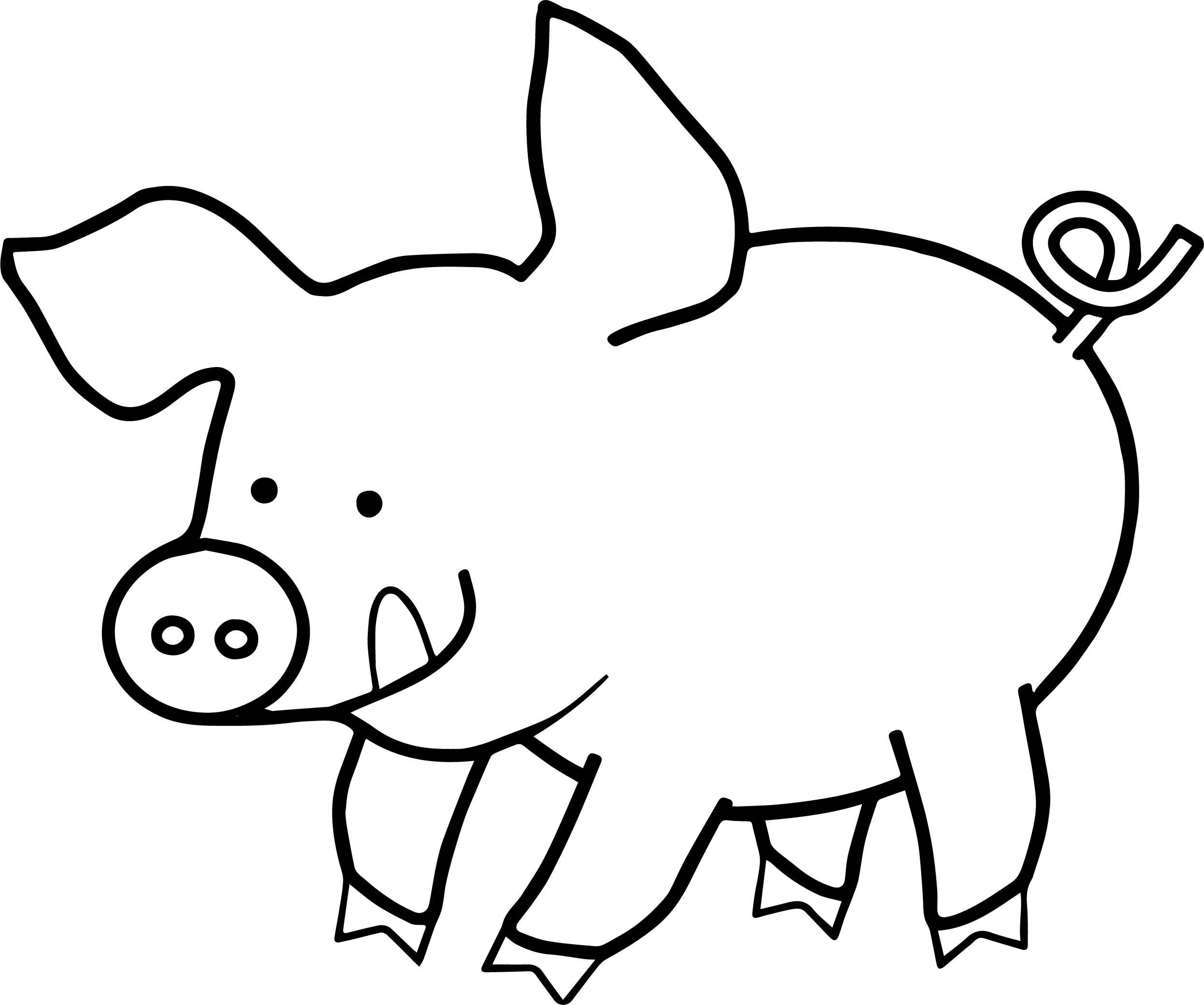 Free Guinea Pig Coloring Pages Free Printable Pig Coloring Pages At Getdrawings Free For
