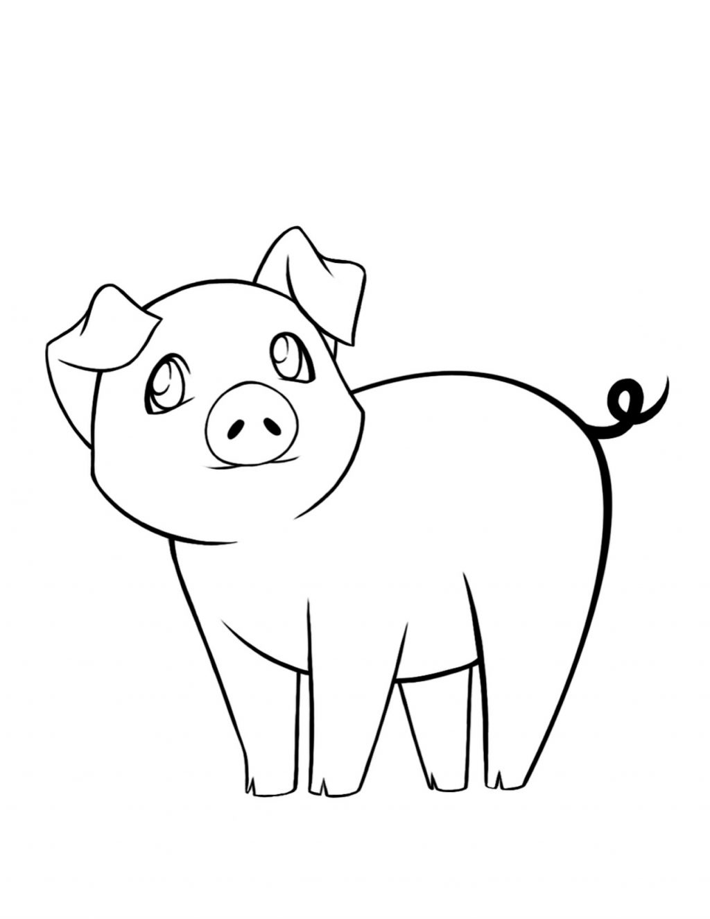 Free Guinea Pig Coloring Pages Fresh Adult Pig Coloring Pages Drawing Pigs To Color Free Coloring