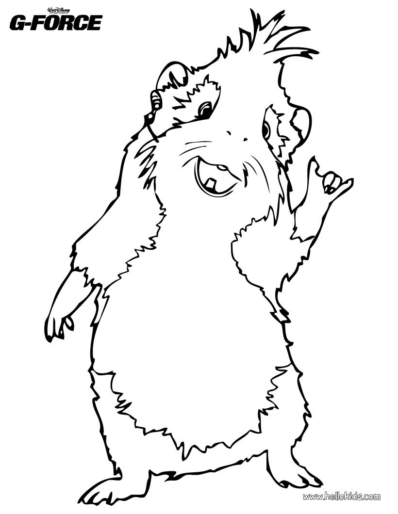 Free Guinea Pig Coloring Pages Guinea Pig Coloring Picture Free Coloring Pages Coloring Home