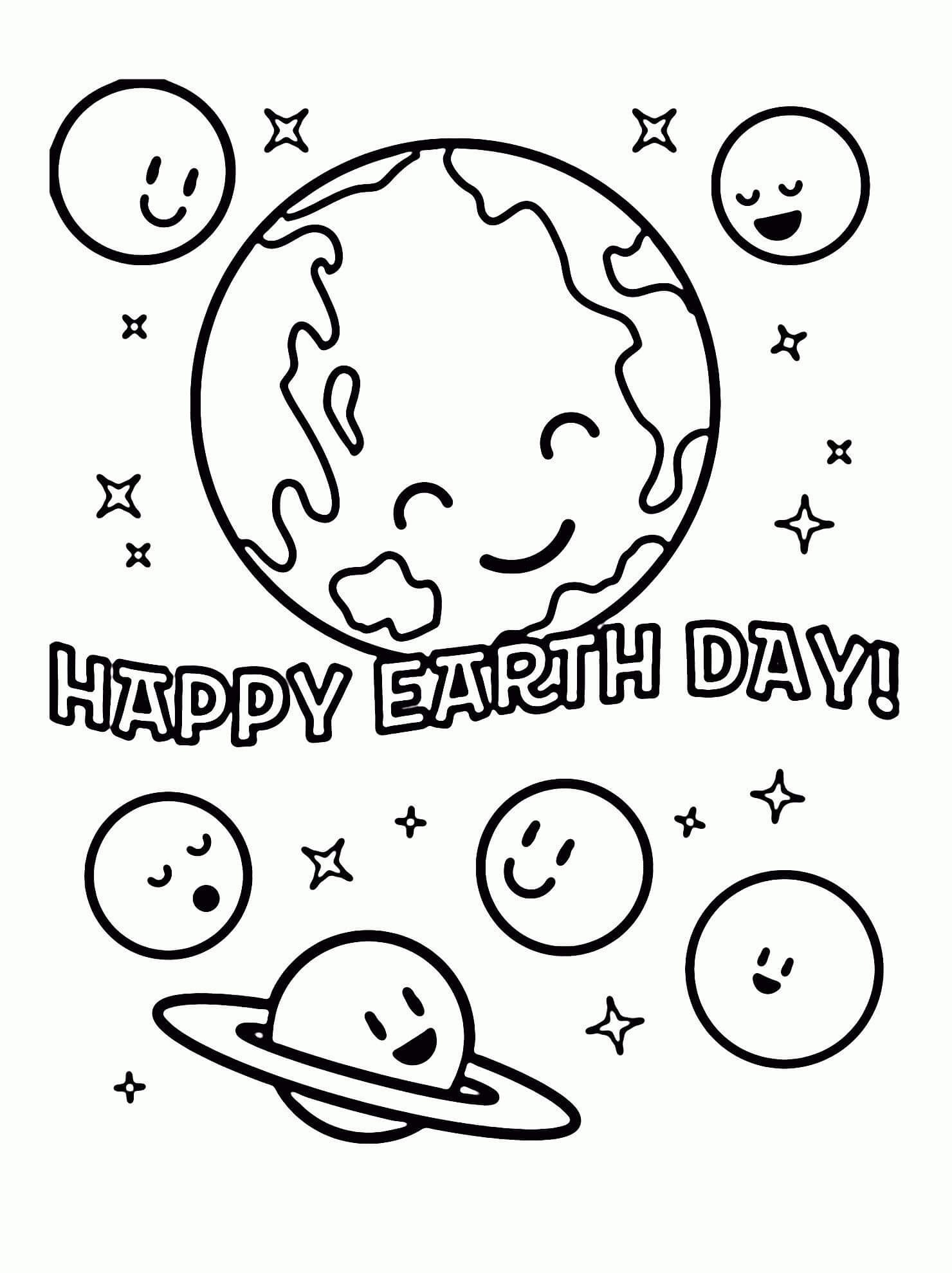 Free Printable Earth Day Coloring Pages And Activities Free Earth Day Coloring Pages With Free Earth Day Coloring Pages