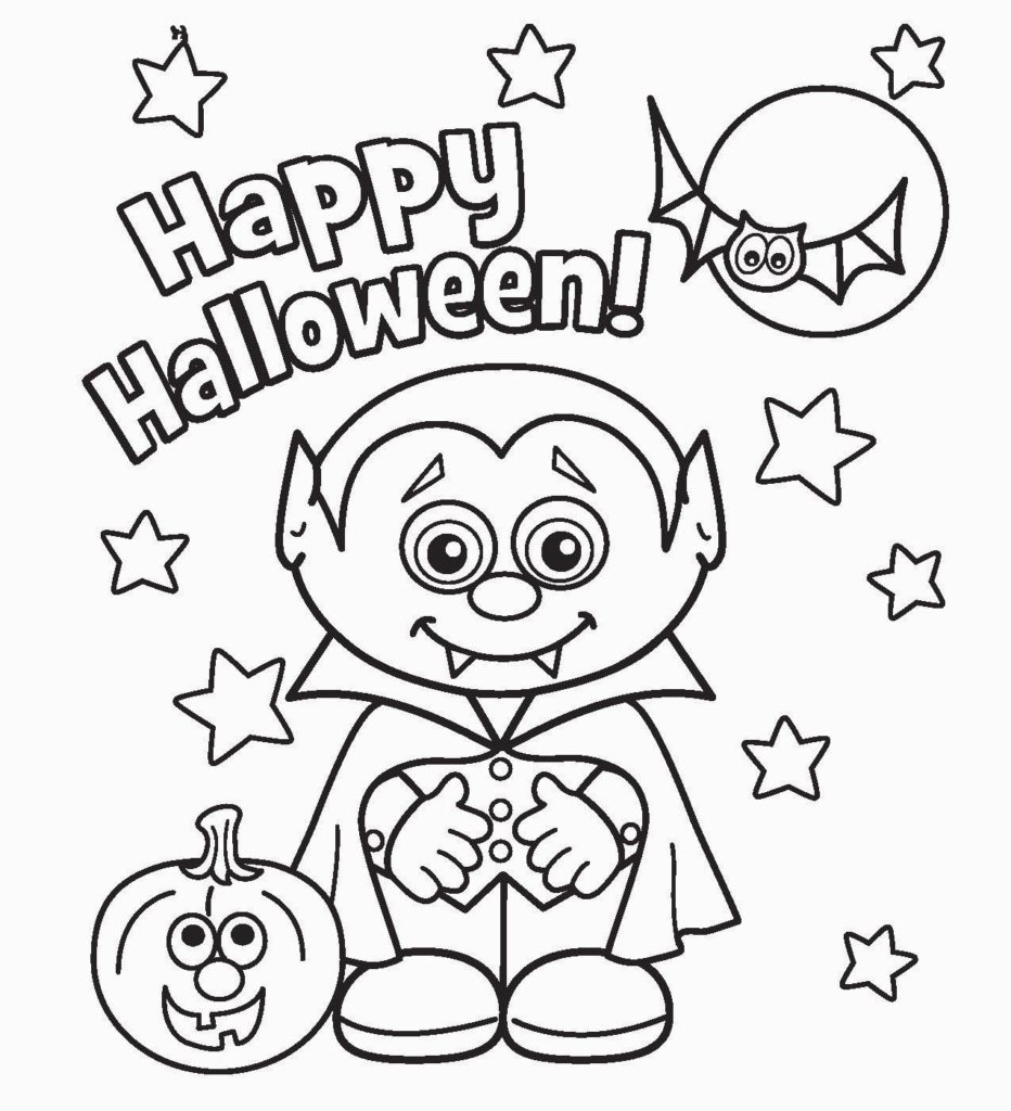 Free Printable Halloween Coloring Page Coloring Awesome Free Printable Halloween Coloring Sheets Image
