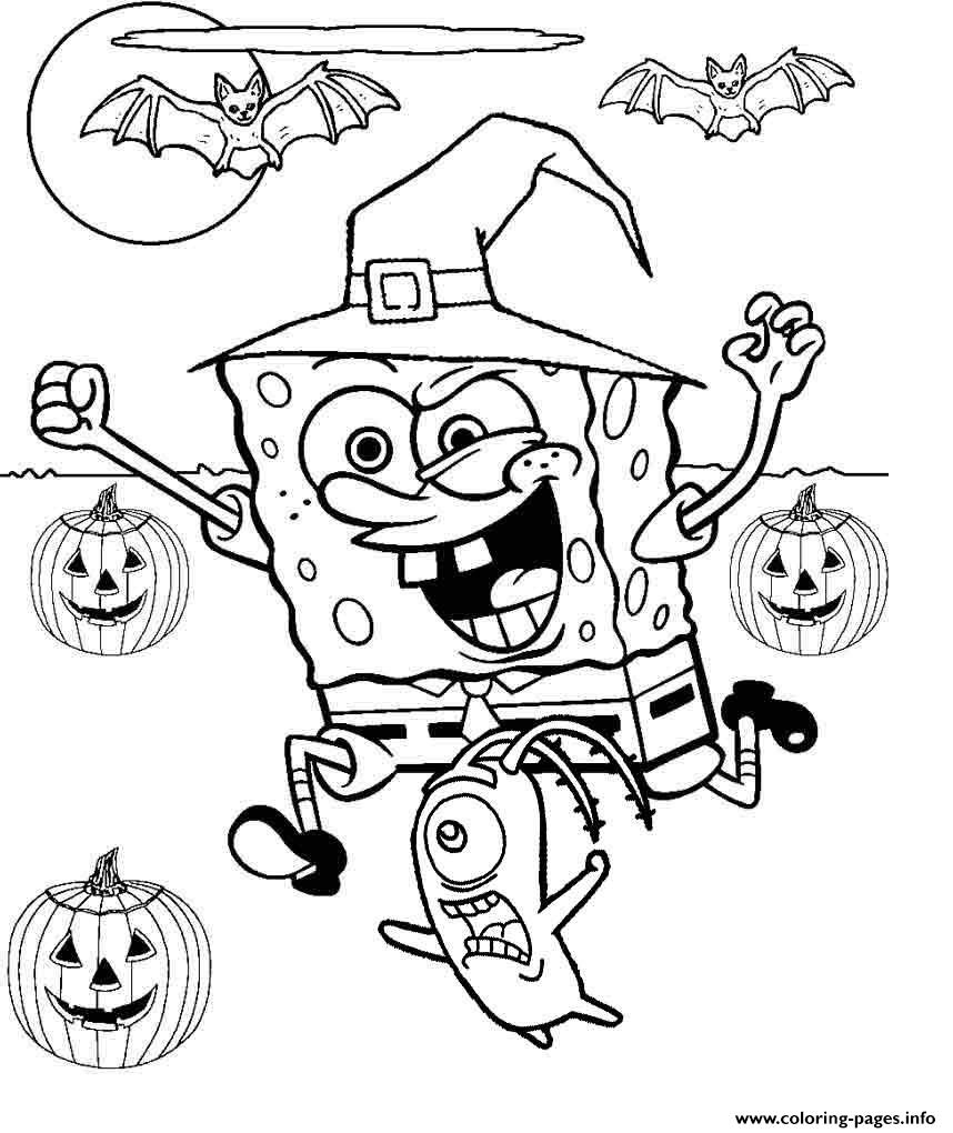 Free Printable Halloween Coloring Page Coloring Freentable Halloween Coloring Sheets Pages Freee