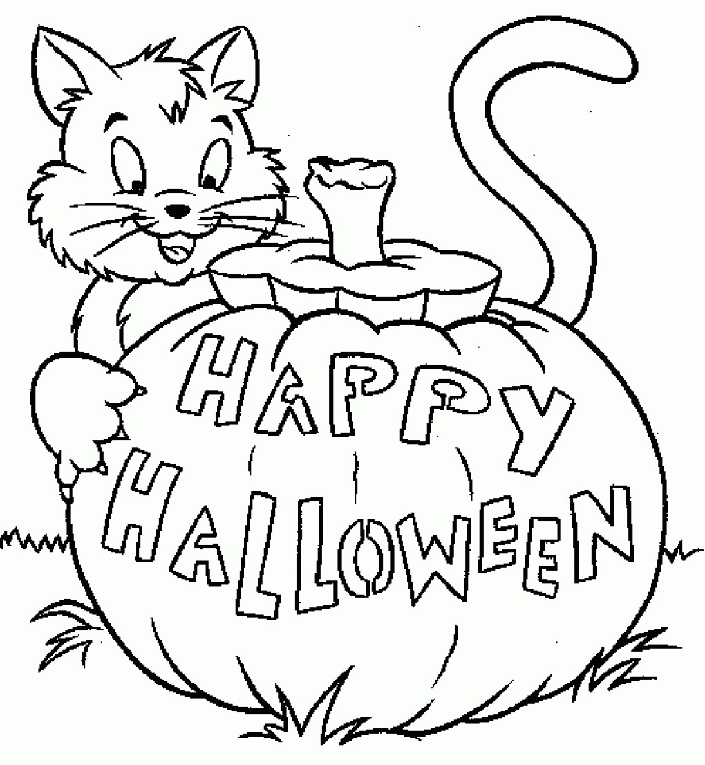 Free Printable Halloween Coloring Page Coloring Ideas Free Printable Halloweenng Pages Image Ideas Page