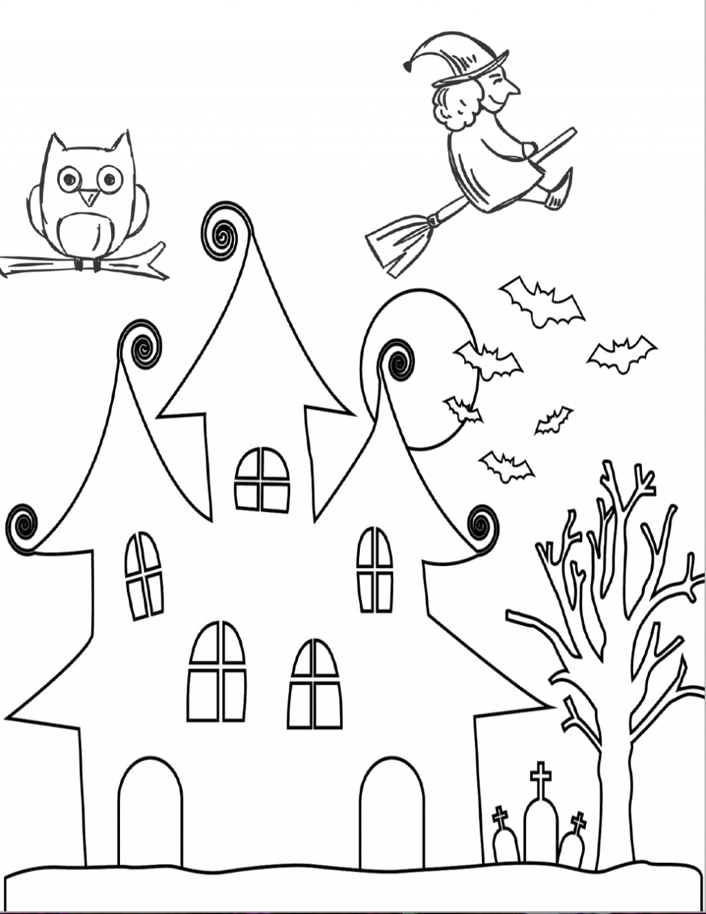Free Printable Halloween Coloring Page Coloring Page Halloween Coloring Page2 Png Free Printable Pages