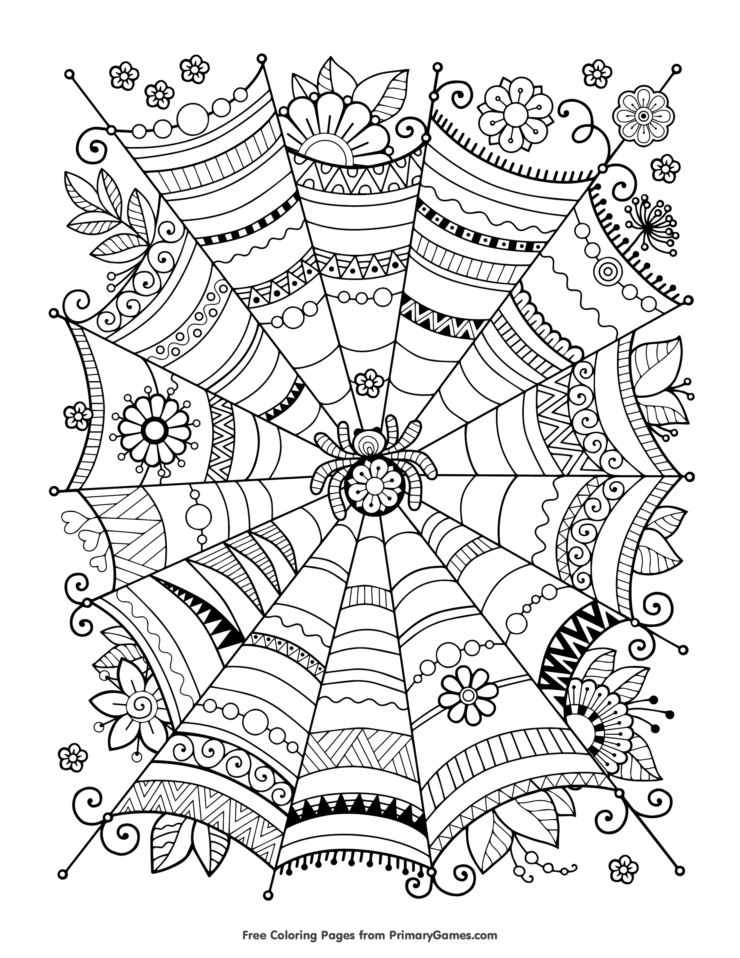 Free Printable Halloween Coloring Page Free Printable Coloring Pages For Halloween Archives