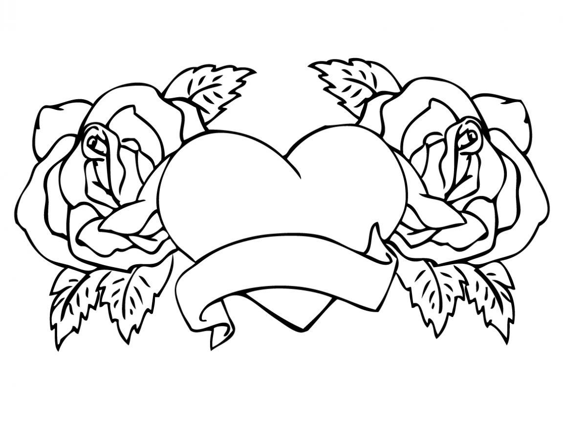 Free Rose Coloring Pages Coloring Book Ideas Extraordinary Rose Coloring Pages Printable