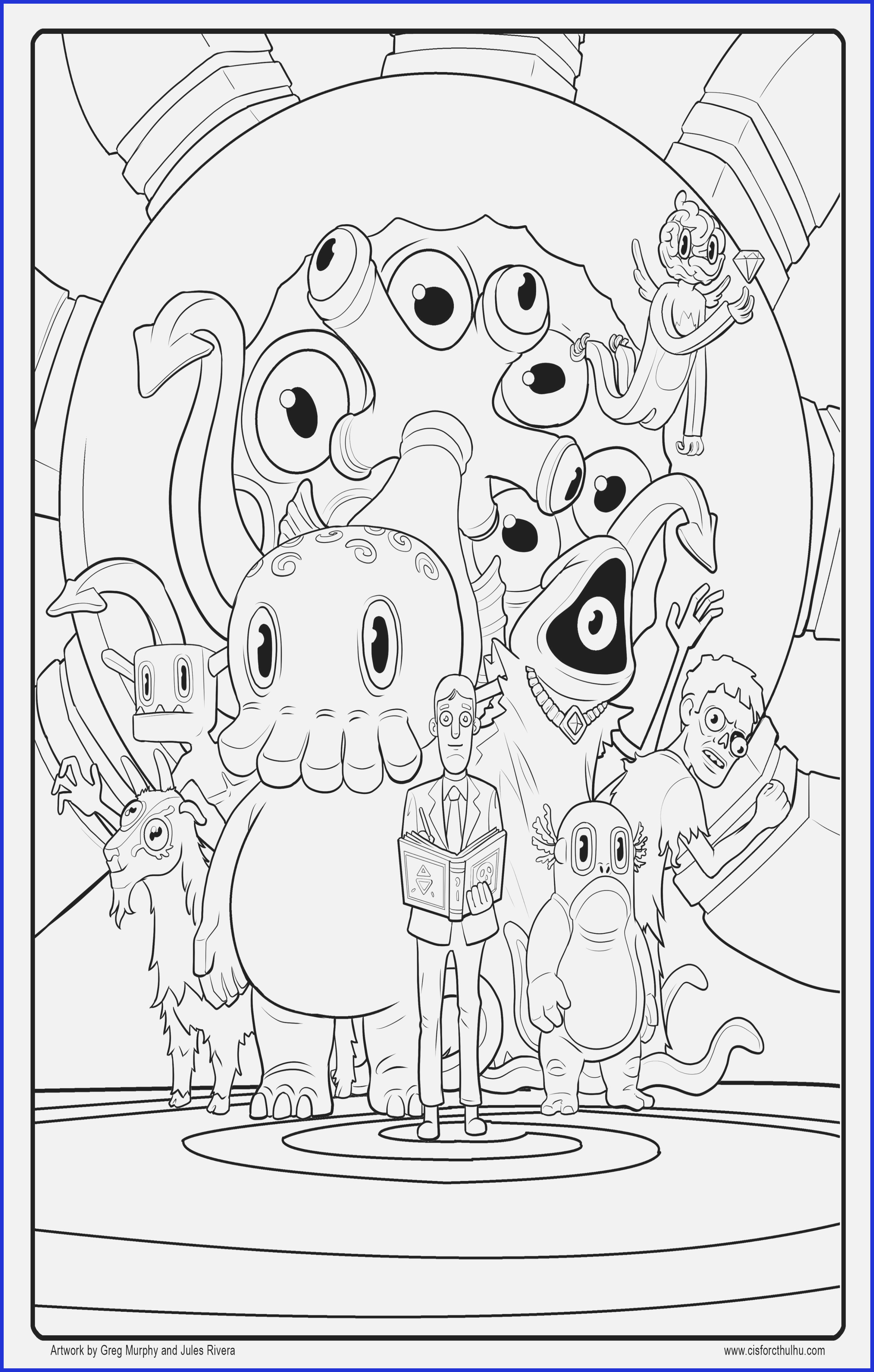 Free Scary Halloween Coloring Pages 12 Cute Halloween Coloring Pages That Are Scary Wwwgsfl