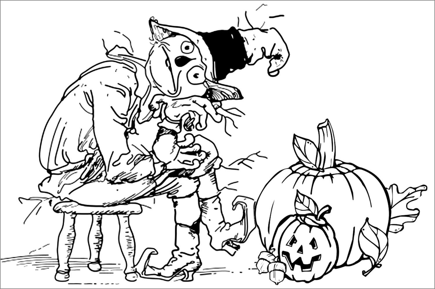 Free Scary Halloween Coloring Pages Beautiful Scary Halloween Coloring Pages Fvgiment