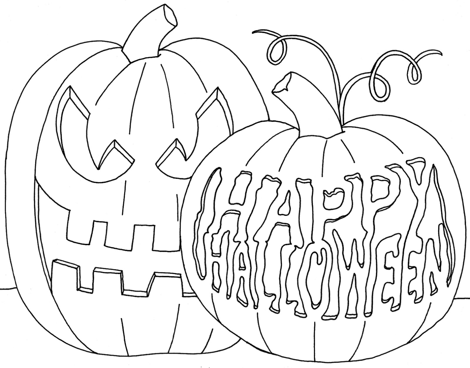 Free Scary Halloween Coloring Pages Coloring 55 Amazing Free Halloween Coloring Pages