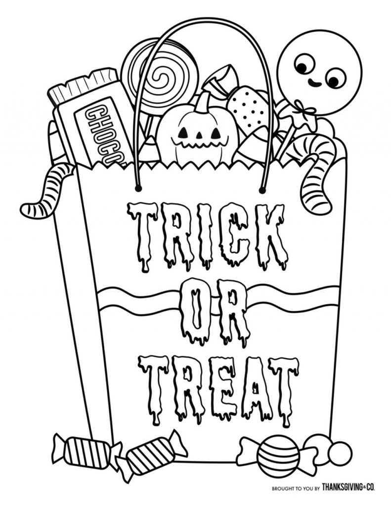 Free Scary Halloween Coloring Pages Coloring Tremendous Halloween Coloring Pages For Toddlers Books