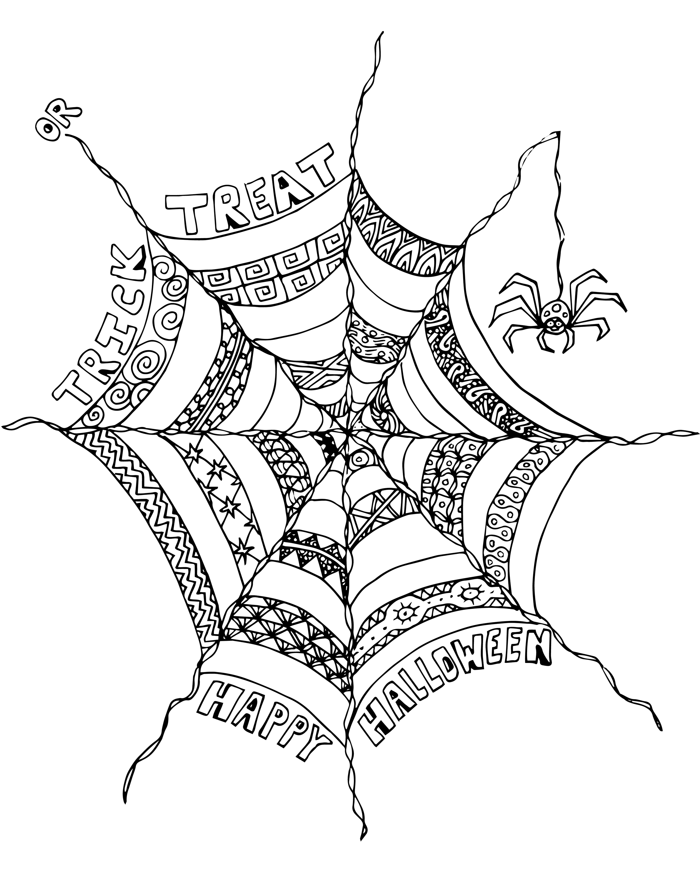 Free Scary Halloween Coloring Pages Free Halloween Coloring Pages For Adults At Getdrawings Free