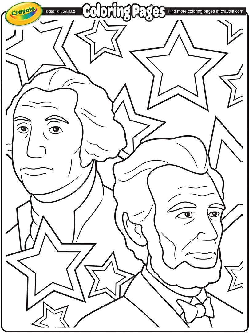 George Washington Carver Coloring Page 37 George Washington Color Page President George Washington