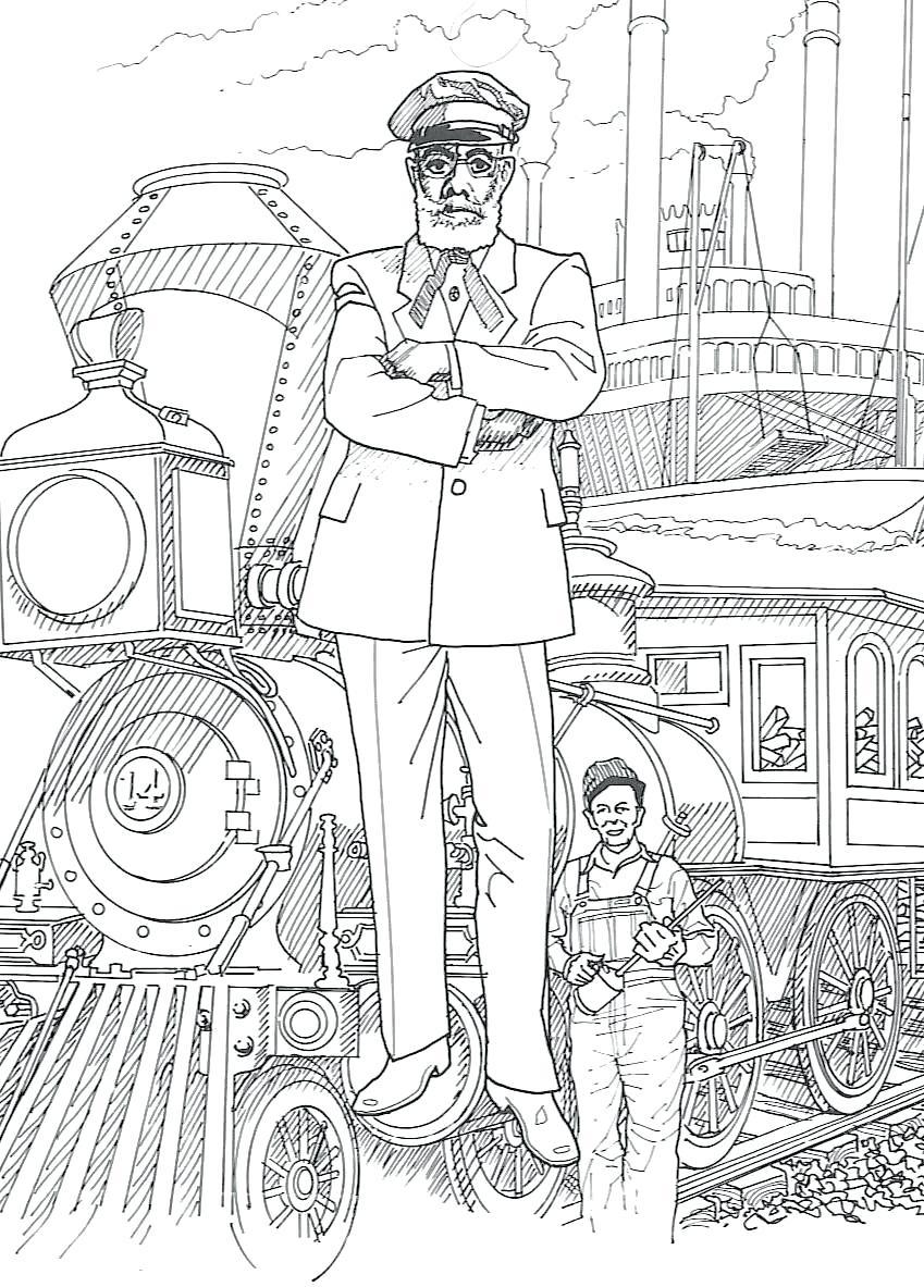 George Washington Carver Coloring Page Coloring Page George Washington Carver Prolinesheetco