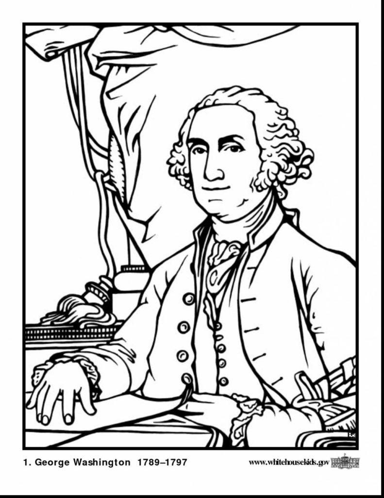 George Washington Carver Coloring Page Coloring Pages George Washington Drawing Simple At Paintingvalley
