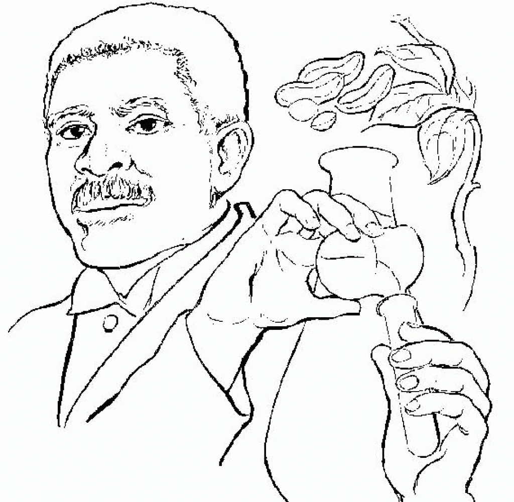 George Washington Carver Coloring Page Coloring Pages Stylish As Well Gorgeousrge Washington Carver
