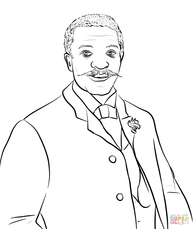 George Washington Carver Coloring Page George Washington Carver Coloring Page Coloring Pages