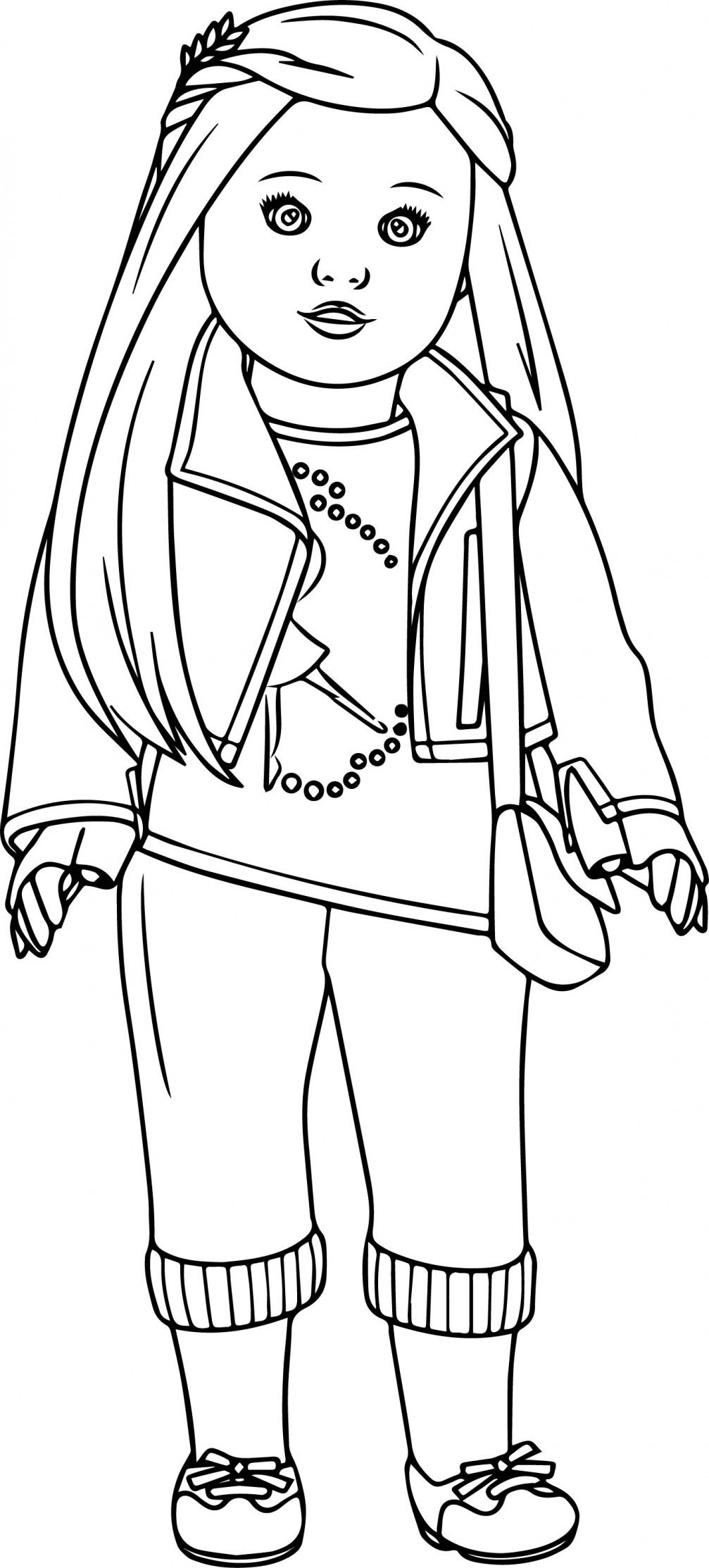 Girl Color Pages American Girl Coloring Pages Best Coloring Pages For Kids