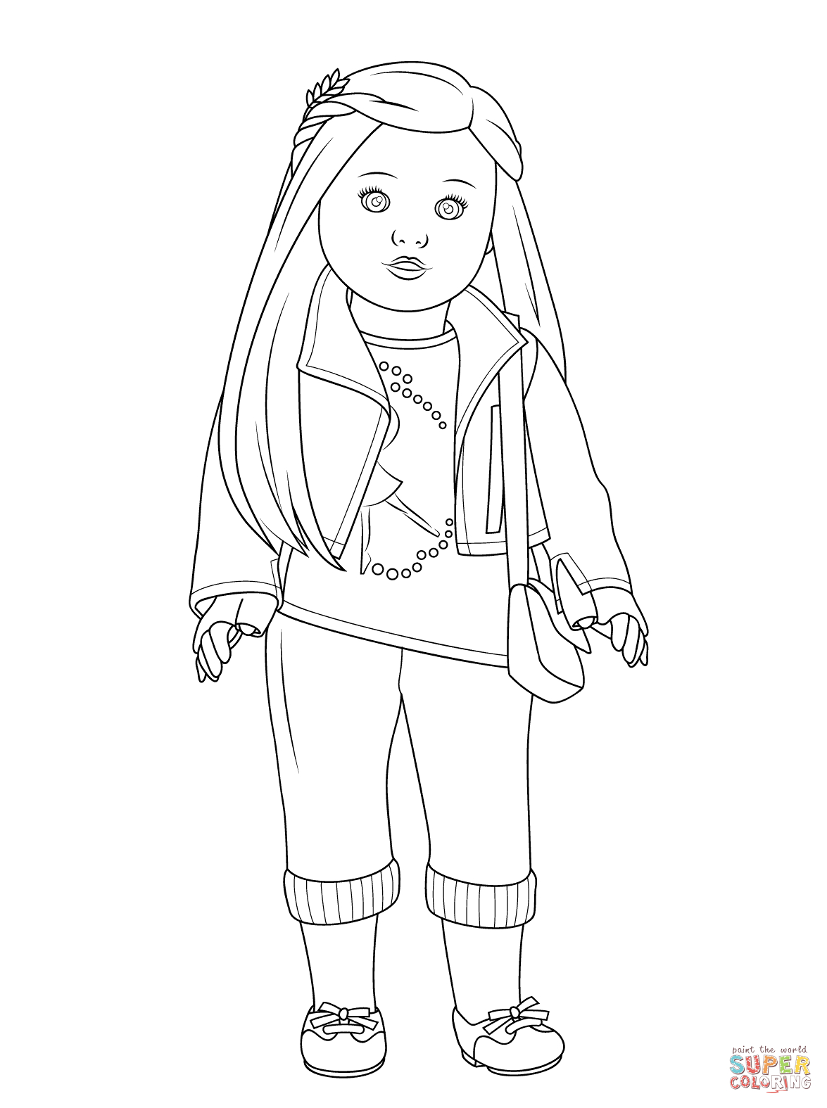 Girl Color Pages American Girl Coloring Pages Free Coloring Pages