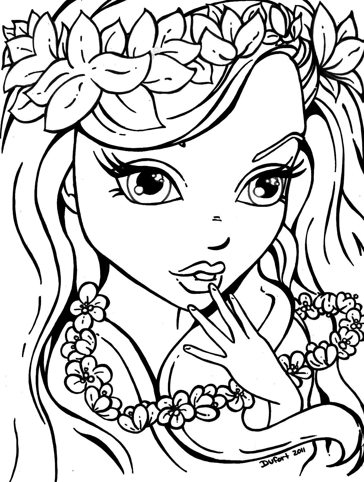 Girl Color Pages Coloring Coloring Pages For Friendship Girls Games Free Girls