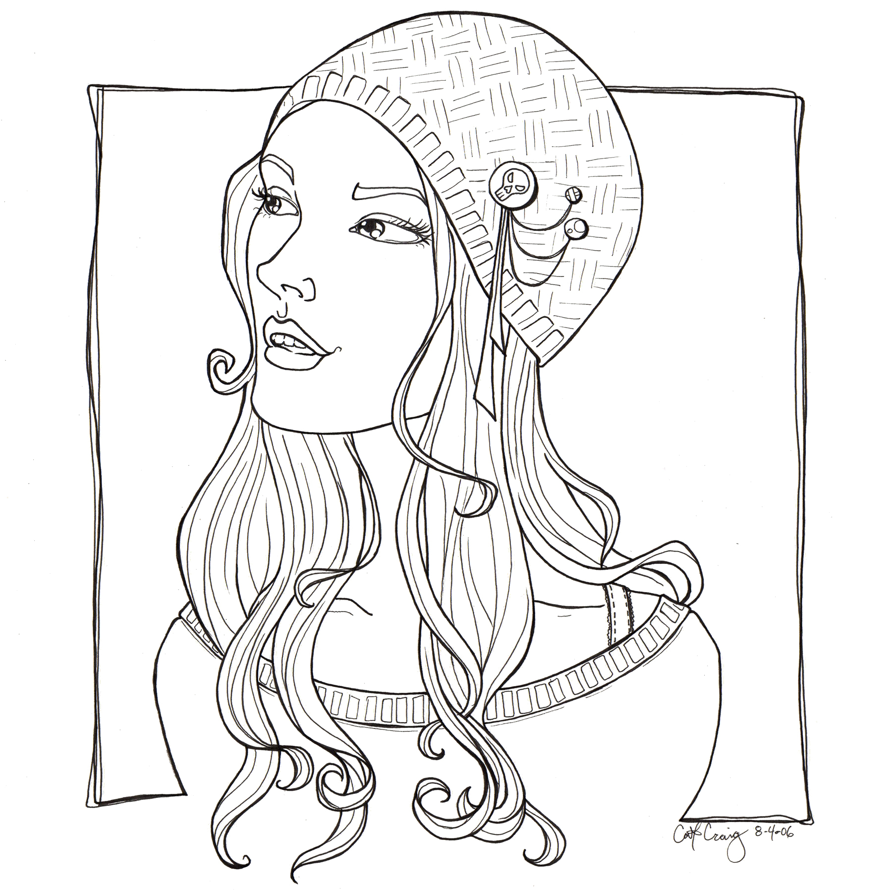 Girl Color Pages Pretty Coloring Pages For Girls At Getdrawings Free For