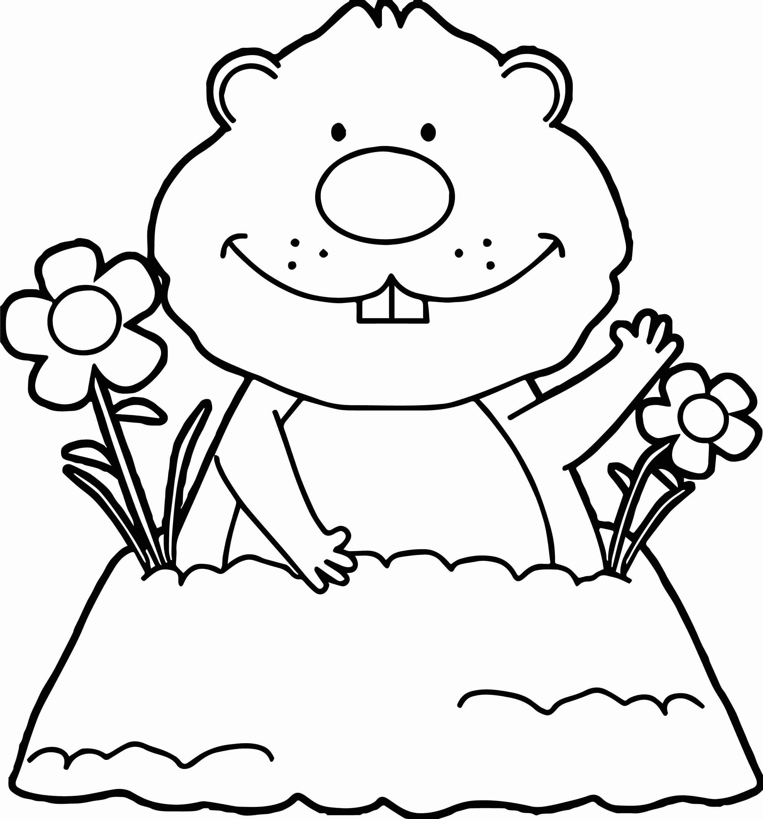 Groundhog Day Printable Coloring Pages Elegant Groundhog Day Coloring Pages Free Printable Coloring Pages