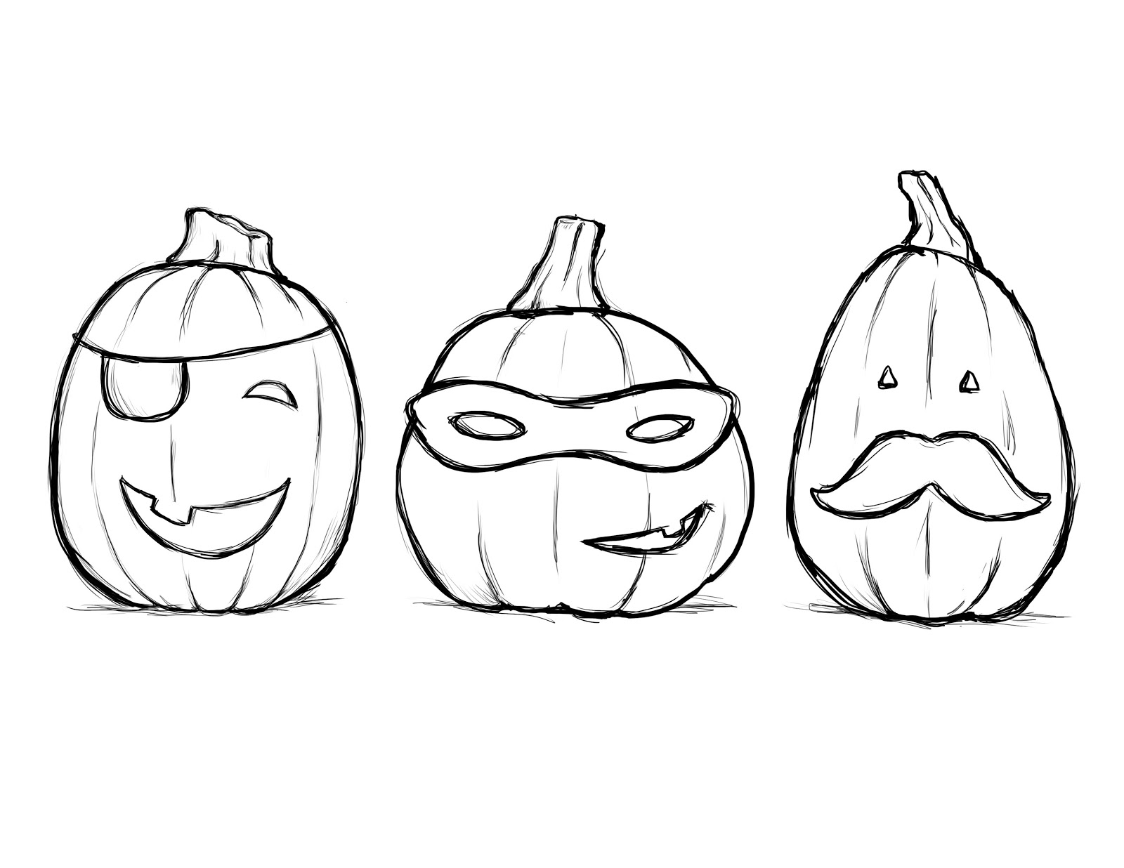 Halloween Pumpkin Coloring Pages Printables Pumpkin Coloring Pages For Kids At Getdrawings Free For