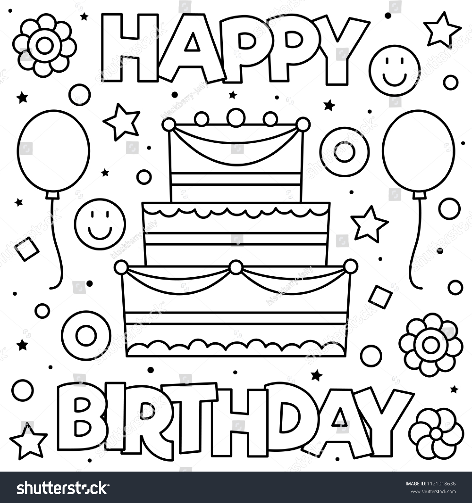 Happy Birthday Coloring Pages To Print Coloring Happy Birthday Coloring Sheet Fantastic Photo Ideas Free