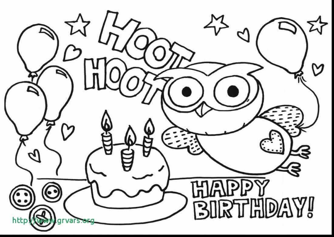 Happy Birthday Coloring Pages To Print Coloring Ideas Happy Birthday Coloring Card Ideas P Dayleswood Com