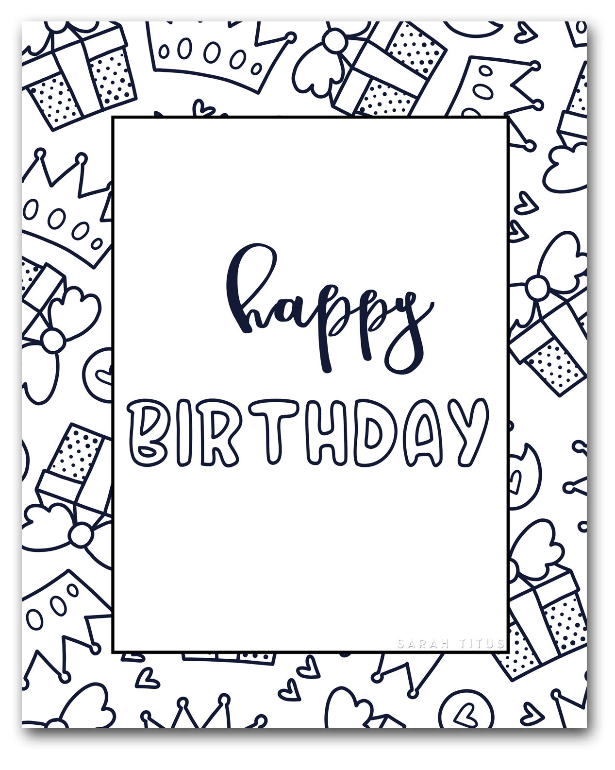 Happy Birthday Coloring Pages To Print Coloring Pages Coloringages Minnie Mouse Happy Birthday Images