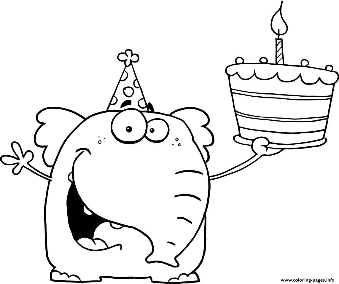 Happy Birthday Coloring Pages To Print Happy Birthday S For Preschoolers3928 Coloring Pages Printable
