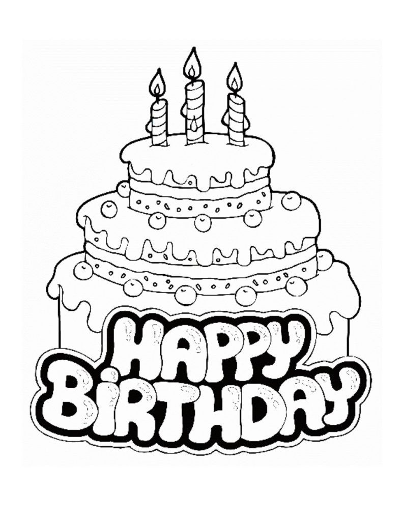 Happy Birthday Coloring Pages To Print Happy Birthday Uncle Coloring Pages Tag Stunning Happy Birthday