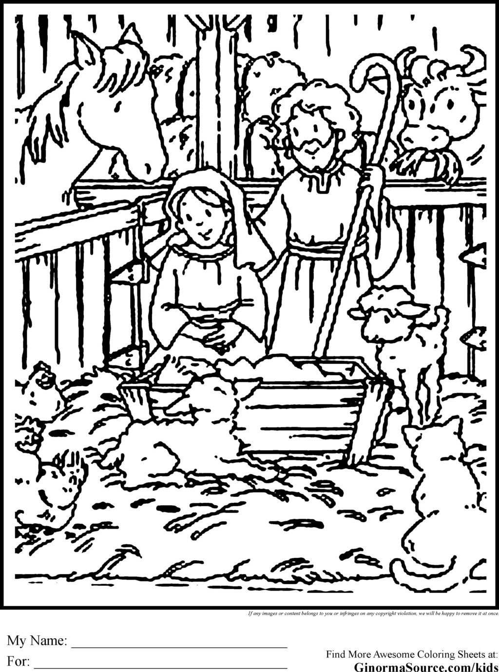 Jesus Christmas Coloring Pages Coloring Book World Nativity Scene For Coloring Photo Ideas Ba
