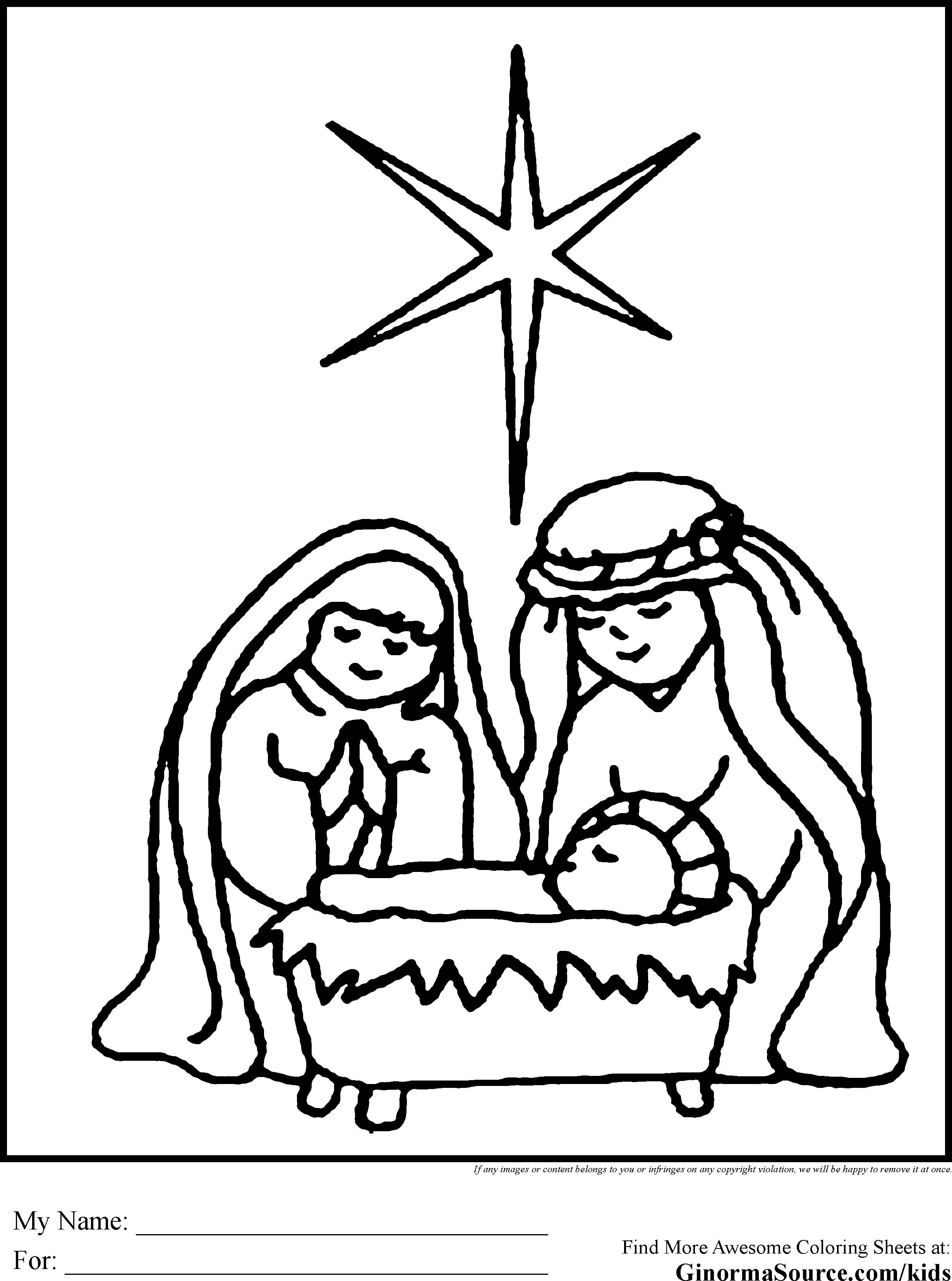 Jesus Christmas Coloring Pages Coloring Pages Of Nativity Characters Unique Nativity Scene Coloring