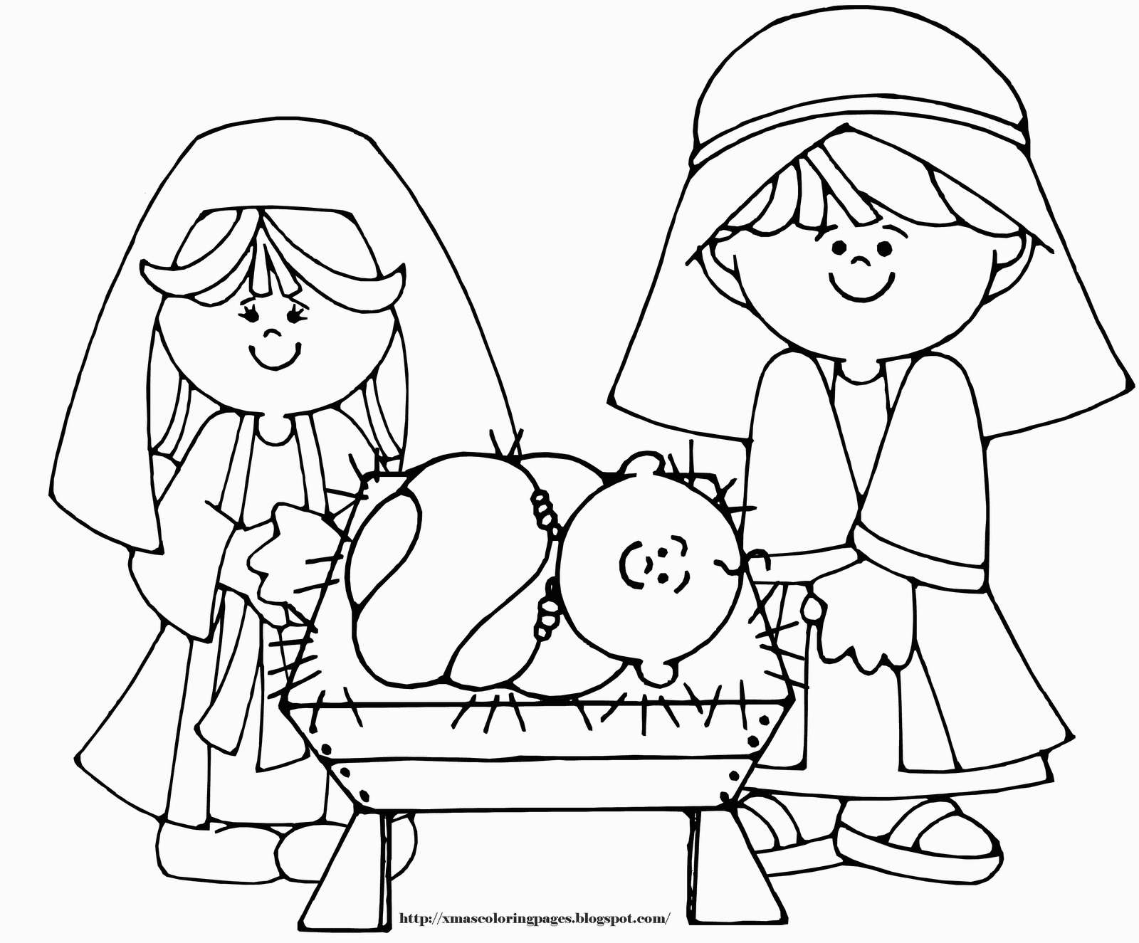 Jesus Christmas Coloring Pages Jesus Christmas Coloring Pages Ba In A Manger Grig3 For Ba Jesus